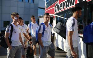 Argentina-México: la selección llegó a Córdoba