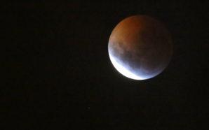 Eclipse lunar en Villa Santa Rosa