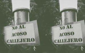 Villa Santa Rosa: empapelada contra el acoso callejero