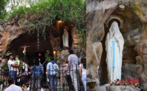Miles de fieles peregrinaron a la Gruta de Alta Gracia,…