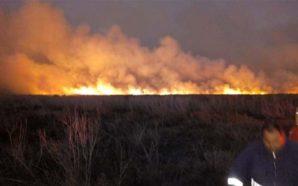 Declaran alerta Roja por incendio en La Para