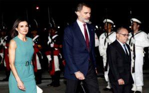 Los reyes de España llegaron a Argentina