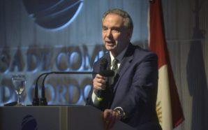 Pichetto en Córdoba pidió una Argentina con menos «espíritu cartonero»
