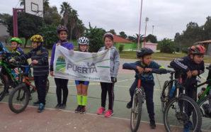 La Puerta fue sede del primer encuentro de ciclismo y…