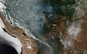 El humo de los incendios en el Amazonas alcanzó el…
