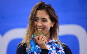 Histórica: Delfina Pignatiello se llevó 3 medallas de oro en…
