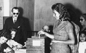 23 de septiembre: Las mujeres celebran el derecho a votar