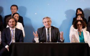 Alberto Fernández presentó a su gabinete de ministros: «Tengo una…