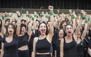 Actrices Argentinas exigió la libertad de una mujer condenada en…