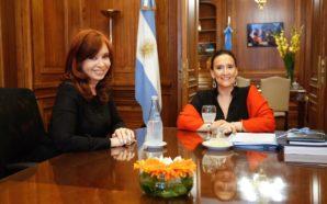 Cristina Fernández y Gabriela Michetti se reunieron en el Senado