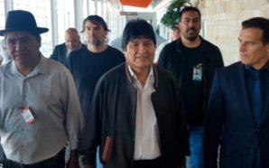 Evo Morales luego de aterrizar en Argentina: «Seguiré luchando por…