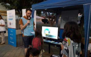 Campaña de prevención de adicciones en el Festival de Cosquín