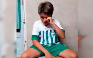 Fue agredido tras un partido de fútbol infantil y grabó…