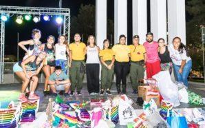 Exitosa colecta de juguetes en Villa Santa Rosa