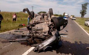 Accidente en ruta 19: Una pareja con estado reservado