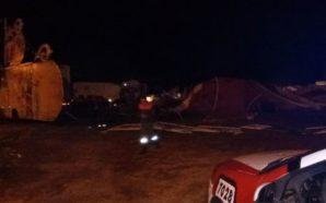 La tormenta hizo destrozos en Traslasierra y hubo evacuados