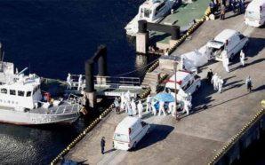 Un argentino contrajo coronavirus en un crucero varado en Japón