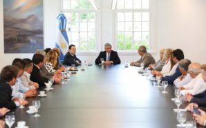 Fernández recibió a intendentes cordobeses: «No hay Argentina sin Córdoba»