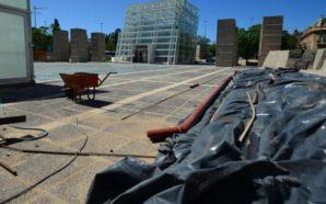 Suspenden las obras en Plaza España por fallas en la…