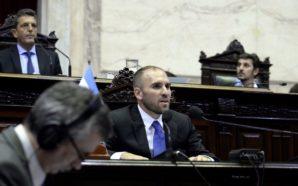Guzmán en el Congreso sobre los alcances de la renegociación…