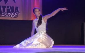 Valentina Mentil, una joven santarroseña en el Ballet Folclórico de…