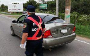 Santa Rosa: detienen a siete personas que circulaban por la…