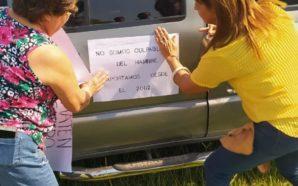 Las mujeres del agro también participaron del Tractorazo Nacional