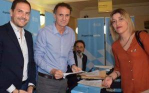 La intendenta de Río Primero firmó el convenio Plan Argentina…