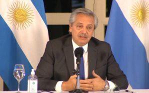 Fernández tras el anuncio de las medidas económicas: «Los dólares…