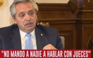 Fernández reclamó a la Justicia resolver la causa del pacto…