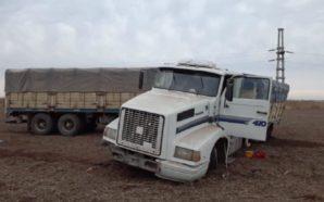 Un camionero está en grave estado por un accidente en…