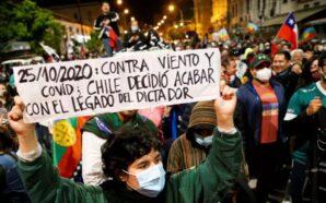 Histórico: Chile votó por dejar atrás la constitución del dictador…