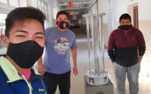 Salta: Estudiantes de secundaria crearon un robot para esterilizar ambientes