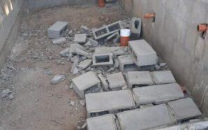 Santiago Temple: Rompieron una pared recién construida en el Club…