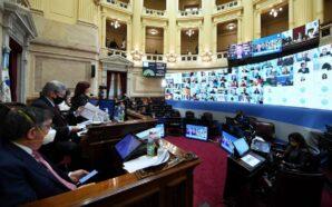 El Senado sesiona para debatir el aporte solidario de grandes…