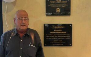 Homenajearon a Pedro Fernández en el Club Atlético El Carmen…