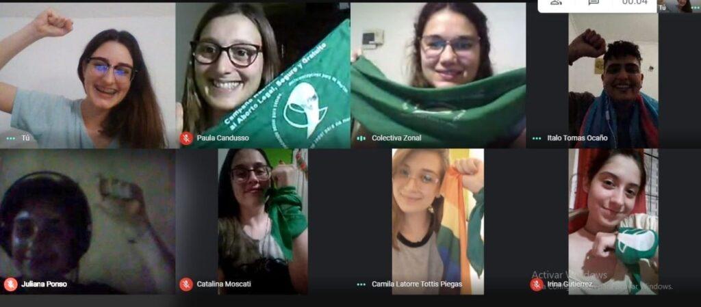 grupos feministas en el interior