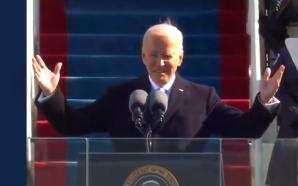 Luego de la tensión en el Capitolio, Joe Biden asumió…