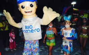 Con barbijos y distancia, Río Primero vivió una noche carnavalera