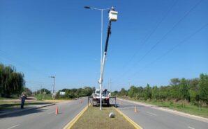 Santa Rosa: Cambian el alumbrado público por luminarias led sobre…