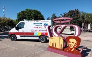 Villa Santa Rosa adquirió una nueva ambulancia para el Centro…
