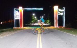 Un joven de Obispo Trejo construyó una bicicleta de dos…