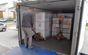 Córdoba recibió en un día más de 160 mil vacunas