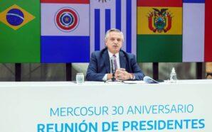 Alberto Fernández en el Mercosur