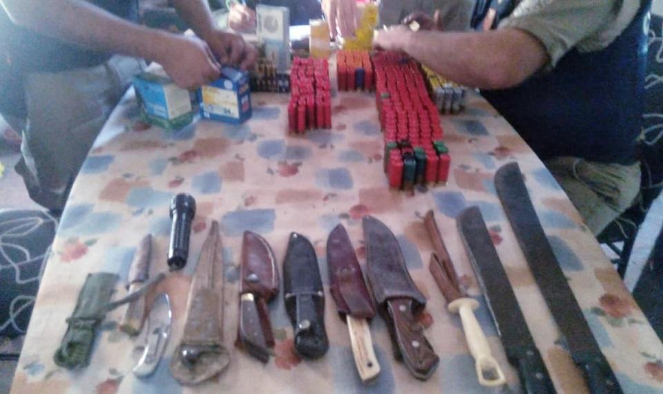 Caza furtiva: secuestran armas largas y municiones en Villa del…