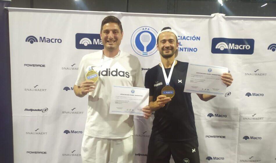 Dos rioprimerenses son Campeones Nacionales de Pádel y competirán en…